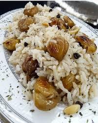 Kestaneli pilav, kestaneli pilav nasıl yapılır?