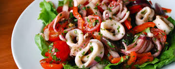 Rokalı Kalamar Salatası , Rokalı Kalamar Salatası Tarifi