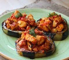 Patlıcanlı Tavuk Oturtma , Patlıcanlı Tavuk Oturtma Nasıl Yapılır ?